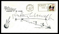 Lot 4772 [1 of 2]:1976 Viking Mission to Mars illustrated cover signed by Astronaut Anthony Llewellyn.