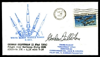 Lot 4281:1977 White Sands Missile Range illustrated cover signed by Astronaut Gordon Fullerton.