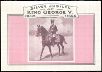 Lot 926 [1 of 2]:1985 Stamp Replica Card No 4: 1935 KGV Silver Jubilee