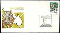 Lot 4681:1979 Radio Australia 40th Anniversary illustrated cover with adhesive tied by special cancel 20th December Melbourne, unaddressed.