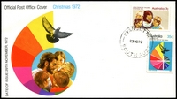 Lot 454:APO 1972 Christmas set tied by Kyancutta cds 29NO72, unaddressed.