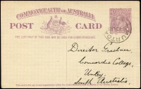 Lot 398:1923-24 1d Violet KGV Sideface BW #P56 used in 1925.