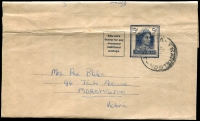 Lot 438:1959-65 5d Blue QEII BW #W29 used in 1962.