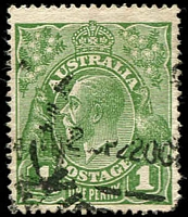 Lot 2784:1d Green - BW #79(4)j RA joined.