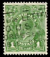 Lot 548:1d Green - BW #81(1)f Die II.
