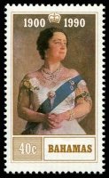 Lot 3715 [2 of 2]:1990 Queen Mother 90th Birthday SG #880-1 set. (2)