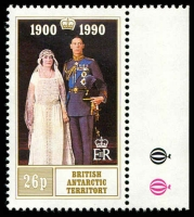 Lot 3774 [2 of 2]:1990 Queen Mother 90th Birthday SG #186-7 set. (2)