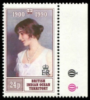 Lot 3789 [2 of 2]:1990 Queen Mother 90th Birthday SG #106-7 set. (2)