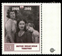 Lot 3789 [1 of 2]:1990 Queen Mother 90th Birthday SG #106-7 set. (2)
