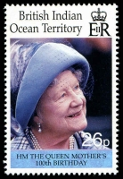 Lot 3790 [2 of 2]:2000 Queen Mother 100th Birthday SG #240-1 set. (2)