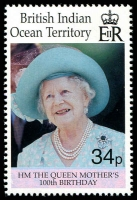 Lot 3790 [1 of 2]:2000 Queen Mother 100th Birthday SG #240-1 set. (2)