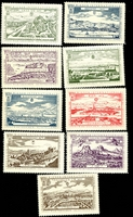 Lot 8:Austria: 1965 Wipa Stamp Exhibition set of nine 
