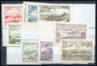 Lot 4:Austria: 1965 Wipa Stamp Exhibition set of nine labels. (9)