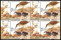 Lot 3955:1985 Birds SG #132a se-tenant set in block of 4. (12)