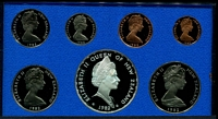 Lot 186 [1 of 3]:New Zealand: 1982 cased proof set.