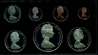 Lot 45 [1 of 3]:New Zealand: 1975 cased proof set.