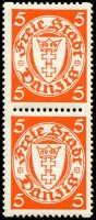 Lot 3410:1932-5 Coils Mi #193 5pf orange coil pair (1**).