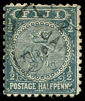 Lot 4024:1891-1902 New Designs Perf 11 SG #86 ½d slate-grey.