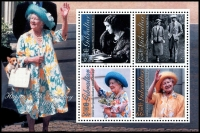 Lot 4029:2000 Queen Mother 100th Birthday SG #941 M/sheet.