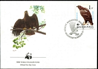 Lot 3966 [2 of 5]:1983 WWF Birds of Prey SG #3507-13 set ** plus set tied to illustrated FDCs, unaddressed.