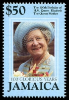 Lot 4257 [1 of 4]:2000 Queen Mother 100th Birthday SG #977-80 set. (4)