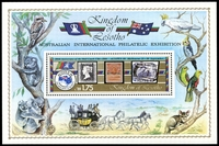 Lot 3899:1984 Ausipex SG #604 M/Sheet.