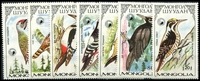 Lot 4127:1987 Woodpeckers SG #1823-9 set. (7)