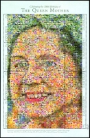 Lot 4367:1999 Queen Mother 100th Birthday sheetlet.