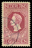 Lot 22210:1913 Centenary of Independence SG #222 1G claret.