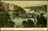 Lot 1399 [1 of 2]:Mosman's Bay: - Multicoloured PPC 'Mosmans Bay, Sydney Harbour'.  PO 16/4/1901.