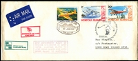 Lot 4268:1981 Norfolk Island - Lord Howe Island - Australia cover flown 50th Anniversary of Francis Chichester's flight from Norfolk on 28 March and then from Lord Howe Island on 10 June with appropriate cachets.