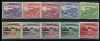 Lot 4150 [1 of 2]:1961-63: SG #O74-90 Overprint set. (16)