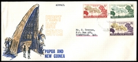 Lot 24120:1962 Fifth South Pacific Conference set tied to illustrated FDC by Lae cds 5JY 62.
