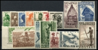 Lot 27127:1952-8 Definitives SG #1-15 set. (16)