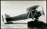 Lot 277:Aircraft: Black & white PPC of Curtiss PW8, real photo.