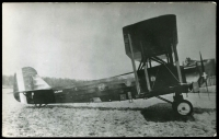 Lot 32:Aircraft: Black & white PPC of Huff Daland XLB5, real photo.