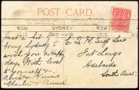 Lot 352 [2 of 2]:Australia - New South Wales: Multicoloured PPC 'Lavender Bay'.