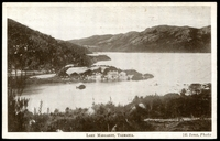 Lot 52:Australia - Tasmania: Black & white PPC 'Lake Margaret, Tasmania' a Mount Lyell Tourist Accociation card.