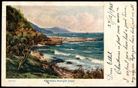 Lot 45 [1 of 2]:Australia: Multicoloured PPC 'Australia's Rock girt Coast'.