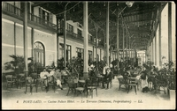 Lot 472:Egypt: Black & white PPC 'Port-Said Casino Palace Hotel'.