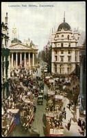 Lot 77:Great Britain: Multicoloured PPC 'London, The Royal Exchange'.