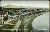 Lot 604:Ireland: Multi-coloured PPC 'Lacey's Hotel and Esplanade, Bray, Co. Wicklow'.