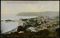 Lot 585:New Zealand: multi-coloured PPC 'Sumner, a favourite seaside resort, near Christchurch'.