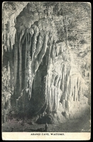 Lot 634:New Zealand: Black & white PPC 'Aranui cave, Waitomo'.