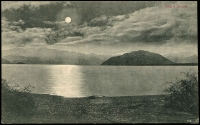 Lot 73:New Zealand: Multicoloured PPC 'Lake Wanaka by Moonlight, NZ'.