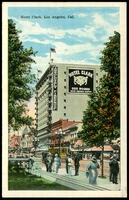 Lot 103:United States of America: Multicoloured PPC 'Hotel Clark, Los Angeles, Cal.'.
