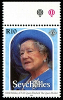 Lot 4550 [1 of 4]:2000 Queen Mother 100th Birthday SG #901-4 set. (4)