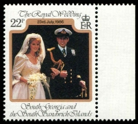 Lot 4590 [2 of 3]:1986 Royal Wedding Andrew and Sarah SG #158-60 set. (3)