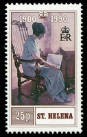 Lot 4528 [2 of 2]:1990 Queen Mother 90th Birthday SG #570-1 set. (2)