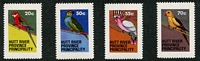 Lot 9:Birds: Hutt River Province 1979 Parrots set. (4)
